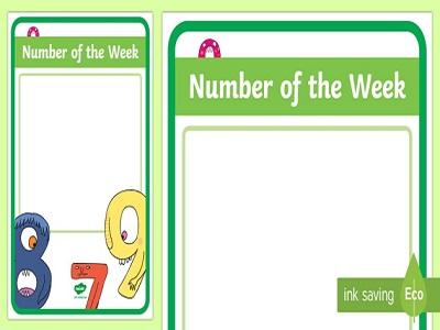 Number Of Week for Children
